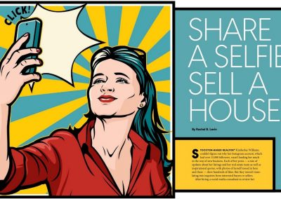 Share a Selfie, Sell a House?